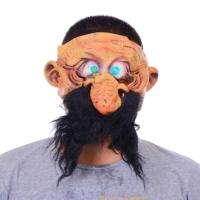 Tvs Sakallı Lateks Korku Maskesi