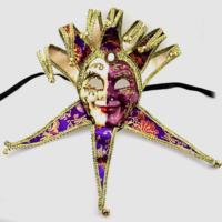 Tvs Lüks Tam Yüz Venedik Joker Masquerade Maske