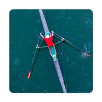 Fotografyabaskı Kano Sporu Bardak Altlığı Baskı 4'lü Set