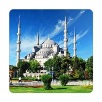 Fotografyabaskı Sultanahmet Camii Bardak Altlığı Baskı 4'lü Set