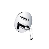 Bocchi Dora Ankastre Banyo Bataryası - Otomatik Yönlendiricili Krom