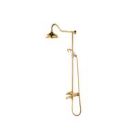 Bocchi Orient Duş Kolonu Ve El Duşu Seti Altın