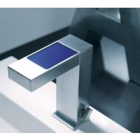 Bocchi Dokunmatik Lavabo Batarya Mavi Ekranlı Ve Led Aydınlatmalı Krom