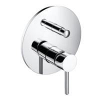 Bocchi Dolce Ankastre Banyo Bataryası-Otomatik Yönlendirici Krom
