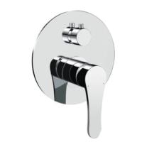 Bocchi Pera Tek Kollu Ankastre Banyo Bataryası,Krom