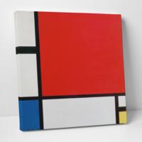 Paşa Home Piet Mondriaan Kompozisyon Kanvas Tablo