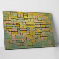 Paşa Home Piet Mondriaan Dutch Kanvas Tablo