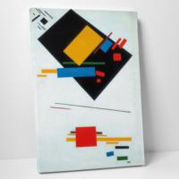 Paşa Home Suprematist Kompozisyon Kanvas Tablo