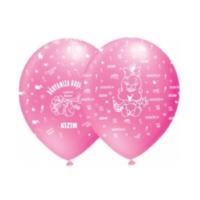 Toptancı Kapında Hoşgeldin Kızım Balonu - 100 Adet