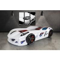Setay Jaguar Arabalı Yatak Beyaz