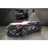 Setay Jaguar Arabalı Yatak Siyah