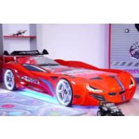 Setay Mercedes Arabalı Yatak Full Ledli Kırmızı
