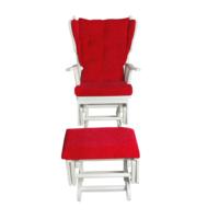 Asedia Teksas Puflu Kırmızı Sallanan Sandalye