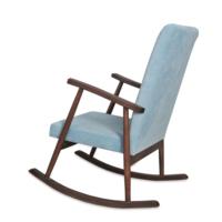 Asedia Teksas Mavi-Ceviz Sallanan Sandalye