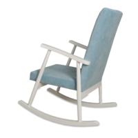 Asedia Teksas Mavi-Beyaz Sallanan Sandalye