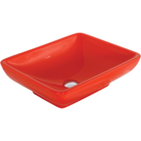 Creavit Set Üstü Lavabo 40X50 Cm Kırmızı