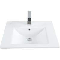 Creavit Su Dolap Uyumlu Lavabo 45X60 Cm Beyaz