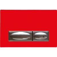 Creavit Design Kırmızı Kumanda Paneli Solid Cam Metal