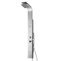 Creavit Termostatlı Paslanmaz Duş Paneli 1600X150X70 Mm Mat