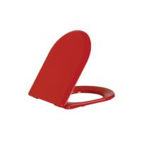 Creavit Amasra Amortisörlü Klozet Kapağı-Kırmızı