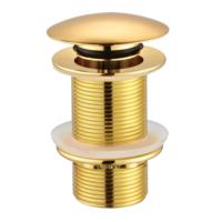 Creavit Otomatik Pop-Up Sifon Başlığı-Altın (Taşmasız) 1 4
