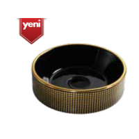 Creavit Point Gold Dark 45 Cm Setüstü Lavabo - Siyah