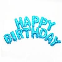Elitparti Happy Birthday Folyo Balon Mavi