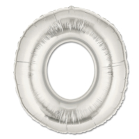 Elitparti Harf Folyo Balon Gümüş - Gümüş - O