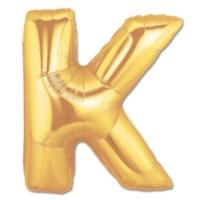 Elitparti Harf Folyo Balon Altın - Altın - K