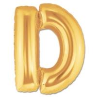 Elitparti Harf Folyo Balon Altın - Altın - D