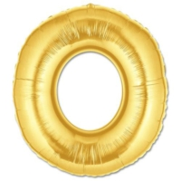Elitparti Harf Folyo Balon Altın - Altın - O