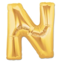 Elitparti Harf Folyo Balon Altın - Altın - N