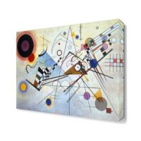 Dekor Sevgisi Vasily Kandinsky Composition 8 Tablo 40x40 cm