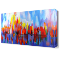 Dekor Sevgisi Desen Canvas Tablo 45x30 cm