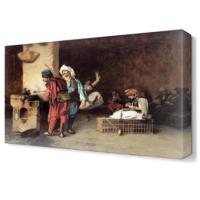 Dekor Sevgisi Osmanlı Esnaf Canvas Tablo 45x30 cm