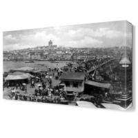 Dekor Sevgisi İstanbul Eski Canvas Tablo 45x30 cm
