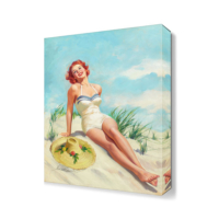 Dekor Sevgisi Howard Connolly Canvas Tablo 45x30 cm