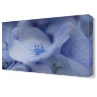 Dekor Sevgisi Beyaz Yapraklar Tablosu 45x30 cm