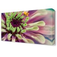 Dekor Sevgisi Mor Çiçek3 Tablosu 45x30 cm