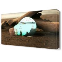 Dekor Sevgisi Ampül Tablosu 45x30 cm