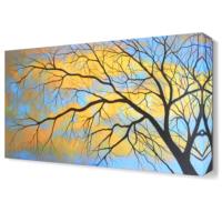 Dekor Sevgisi Dekoratif Ağaç4 Tablosu 45x30 cm