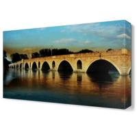 Dekor Sevgisi Edirne Köprü Tablosu 45x30 cm