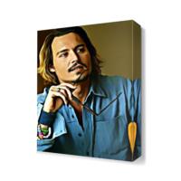 Dekor Sevgisi Johnny Depp2 Tablosu 45x30 cm