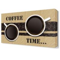 Dekor Sevgisi Coffee Time Tablosu 45x30 cm