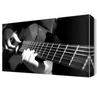 Dekor Sevgisi Gitar Solo Canvas Tablo 45x30 cm