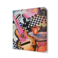 Dekor Sevgisi Jazz Cafe Canvas Tablo 45x30 cm