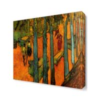 Dekor Sevgisi Ağaçlar Tablosu 40x40 cm