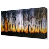 Dekor Sevgisi Uzun Ağaçlar Tablosu 45x30 cm