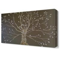 Dekor Sevgisi Sonbaharda Ağaç Tablosu 45x30 cm