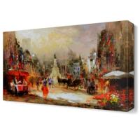 Dekor Sevgisi Tatil Günü Tablosu 45x30 cm